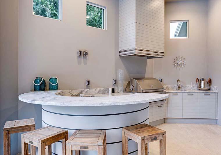 Coastal, Florida, Mediterranean House Plan 52922 with 4 Beds, 5 Baths, 3 Car Garage Picture 20