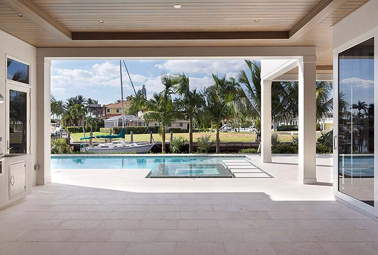 Coastal, Contemporary, Florida House Plan 52941 with 4 Beds, 5 Baths, 3 Car Garage Picture 4