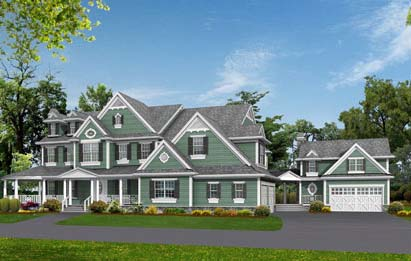 Country Southern Traditional House Plan 53019 Elevation