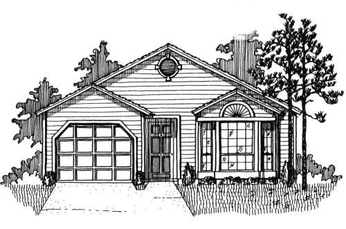 House Plan 53117 Elevation
