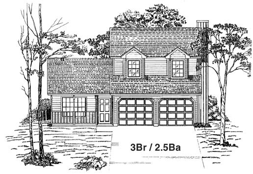 House Plan 53190 Elevation