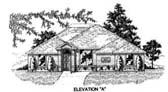 Plan Number 53209 - 1677 Square Feet
