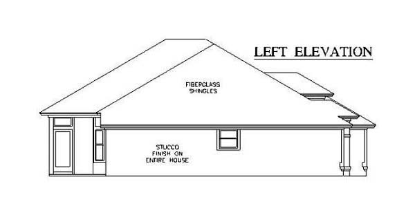 House Plan 53247 with 3 Beds, 2 Baths, 2 Car Garage Picture 1