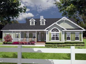 House Plan 53339 Elevation