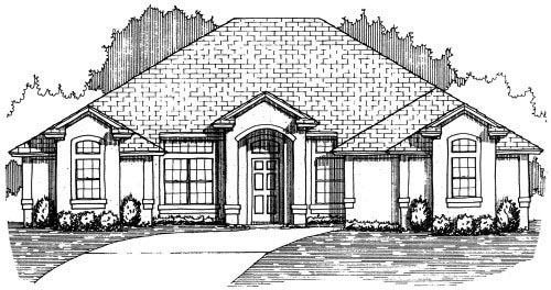 House Plan 53357 Elevation