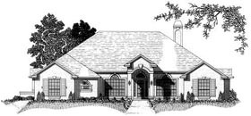 House Plan 53358 Elevation