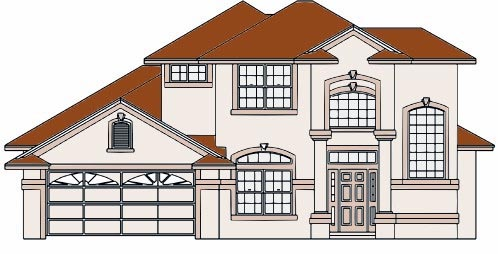 House Plan 53360 Elevation