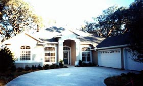 House Plan 53534 with 5 Beds, 4 Baths, 2 Car Garage Elevation