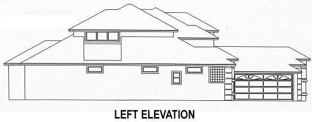 House Plan 53535 with 4 Beds, 3 Baths, 2 Car Garage Picture 1