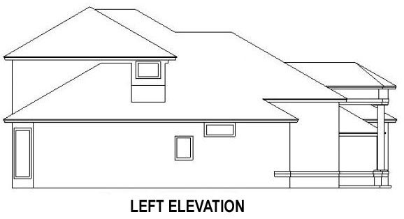 House Plan 53539 with 4 Beds, 3 Baths, 2 Car Garage Picture 1