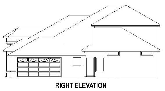 House Plan 53539 with 4 Beds, 3 Baths, 2 Car Garage Picture 2