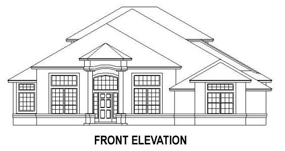 House Plan 53539 with 4 Beds, 3 Baths, 2 Car Garage Picture 3