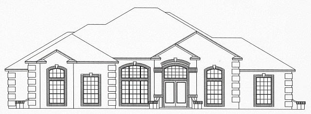 House Plan 53544 Elevation