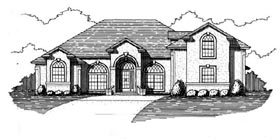 House Plan 53547 Elevation