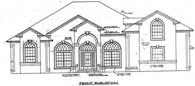 House Plan 53547 with 4 Beds, 4 Baths, 3 Car Garage Picture 1