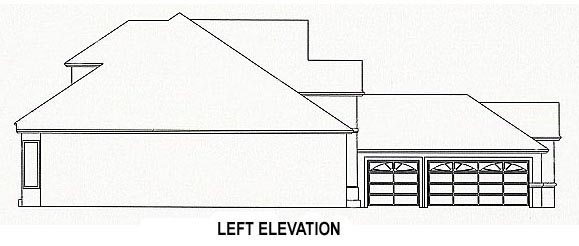 House Plan 53548 with 4 Beds, 3 Baths, 3 Car Garage Picture 1