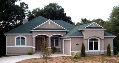House Plan 53549 Elevation