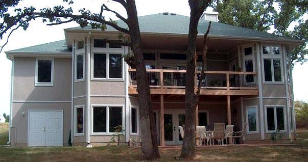 House Plan 53549 Rear Elevation