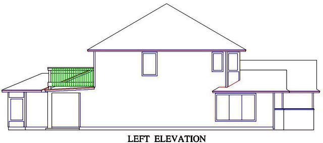 House Plan 53556 with 5 Beds, 5 Baths, 2 Car Garage Picture 1