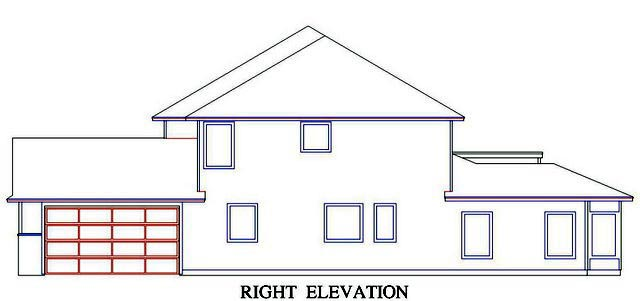 House Plan 53556 with 5 Beds, 5 Baths, 2 Car Garage Picture 2