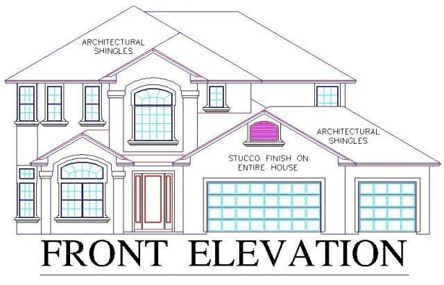House Plan 53557 Elevation