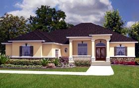House Plan 53559 Elevation