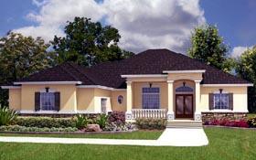 House Plan 53560 Elevation
