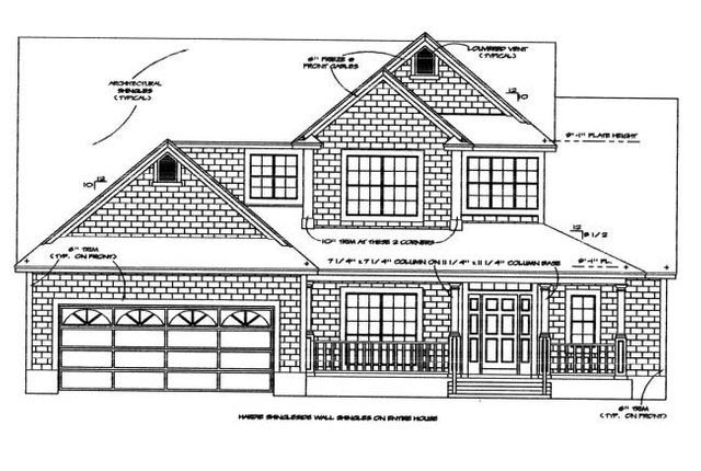 House Plan 53561 Elevation
