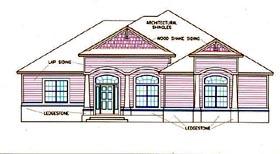 House Plan 53565 Elevation