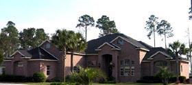 House Plan 53567 Elevation
