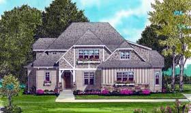 Craftsman House Plan 53700 Elevation