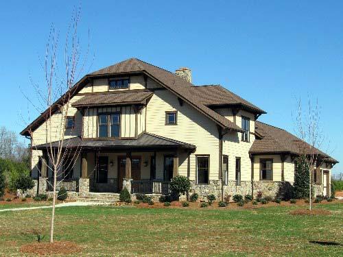 Coastal, Craftsman House Plan 53703 with 4 Beds, 4 Baths, 3 Car Garage Picture 1