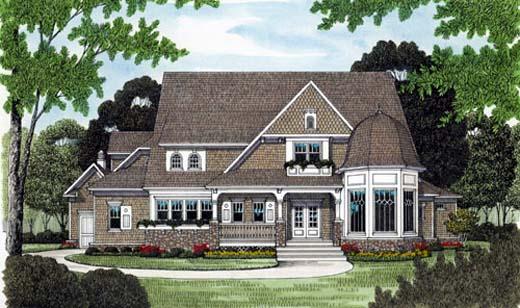 House Plan 53739 Elevation