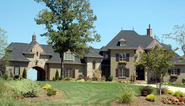Country, European House Plan 53744 with 4 Beds, 5 Baths, 3 Car Garage Picture 1