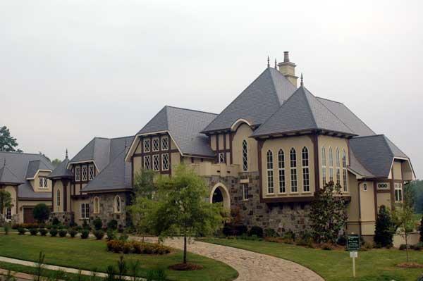 European, Tudor House Plan 53748 with 5 Beds, 7 Baths, 4 Car Garage Picture 1