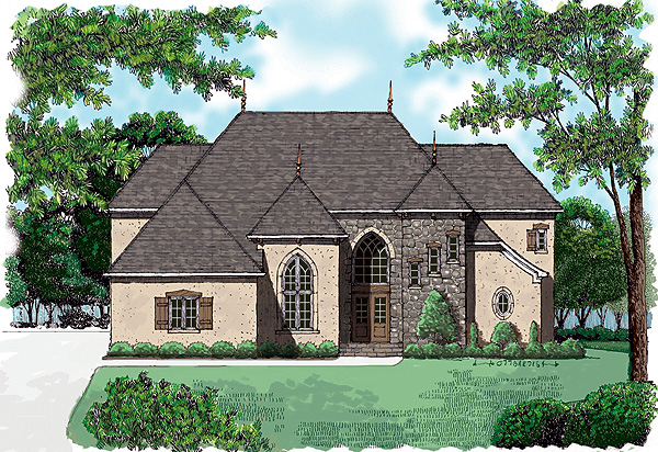 Country House Plan 53780 Elevation