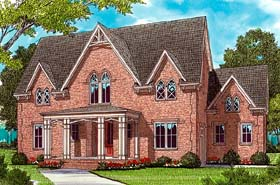 Farmhouse House Plan 53783 Elevation