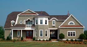 Cape Cod Coastal House Plan 53787 Elevation