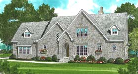 Country House Plan 53800 Elevation
