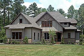 Craftsman House Plan 53806 Elevation