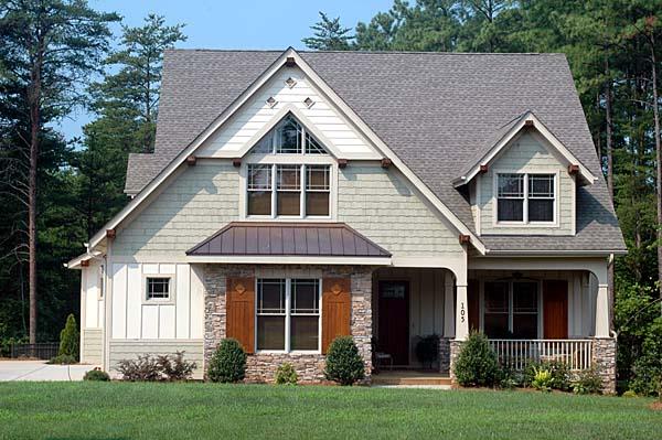Craftsman House Plan 53808 Elevation