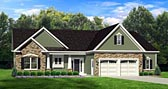 Plan Number 54003 - 1598 Square Feet