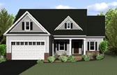 Plan Number 54004 - 1440 Square Feet