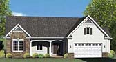 Plan Number 54005 - 1608 Square Feet