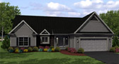 Plan Number 54007 - 2688 Square Feet