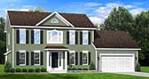Plan Number 54008 - 1764 Square Feet