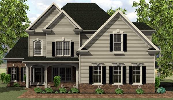 Cape Cod House Plan 54021 Elevation