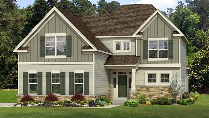 Cape Cod House Plan 54026 Elevation