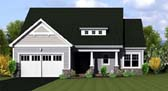 Plan Number 54055 - 1350 Square Feet