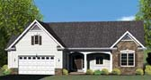 Plan Number 54060 - 1591 Square Feet
